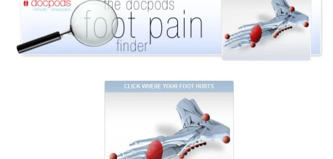 Docpods Foot Pain Finder Facebook Application