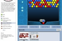 Facebook Flash Game Integration