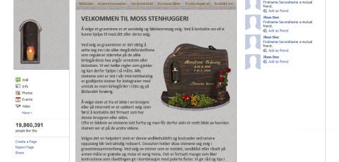 Fan Page for Norwegian Funeral Agency