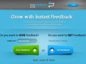 Instant Feedback Startup Entrepreneurship www.mosaicmedia.eu